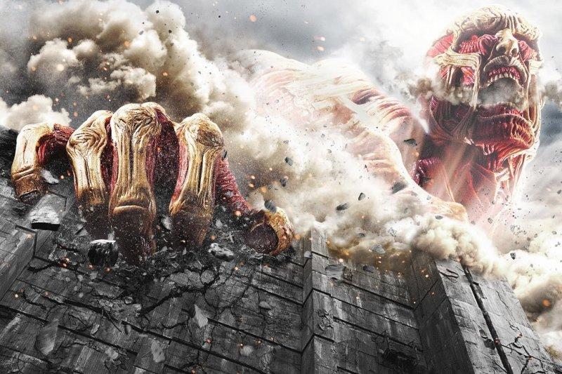 日本動漫進擊的巨人(圖/映画「進撃の巨人 Attack on Titan」@facebook)