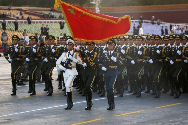 中國九三閱兵(美聯社)