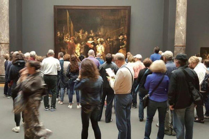 沒事往美術館走走吧,收穫一定豐盛。(作者提供/時報出版)