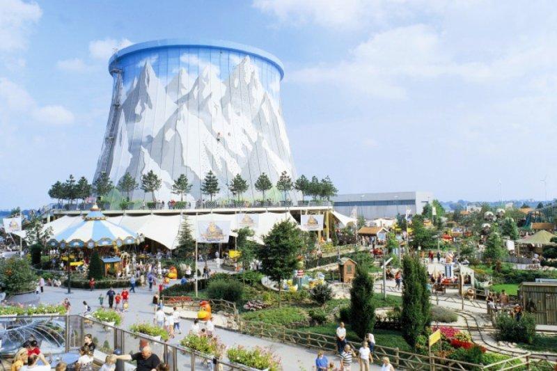 廢舊核電廠變身為Wunderland Kalkar的主題公園,但龍門電廠和Kalkar不同。(圖/gizmag.com)