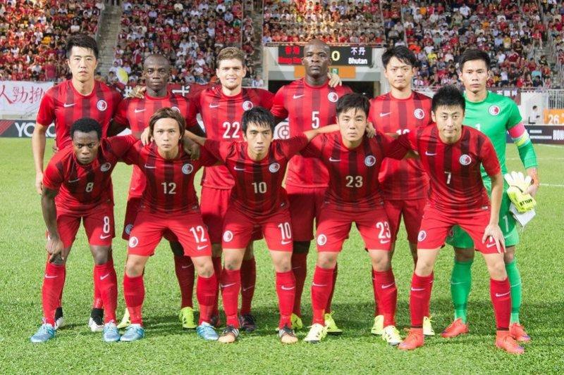 香港足球代表隊,某種程度就是港式國族主義。(取自港足官方臉書粉絲頁)