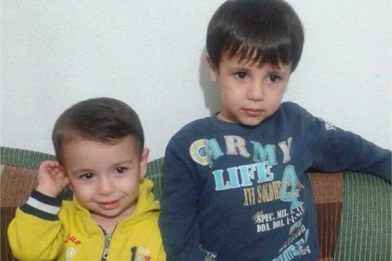 亞藍(左)與加利普生前的合照。(美聯社)