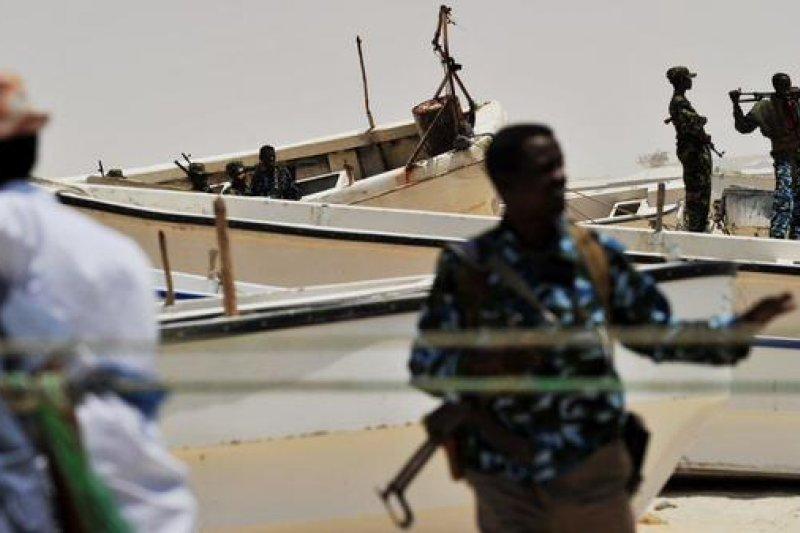 索馬利亞海盜猖獗,幾已成海盜治國局面。(取自推特)