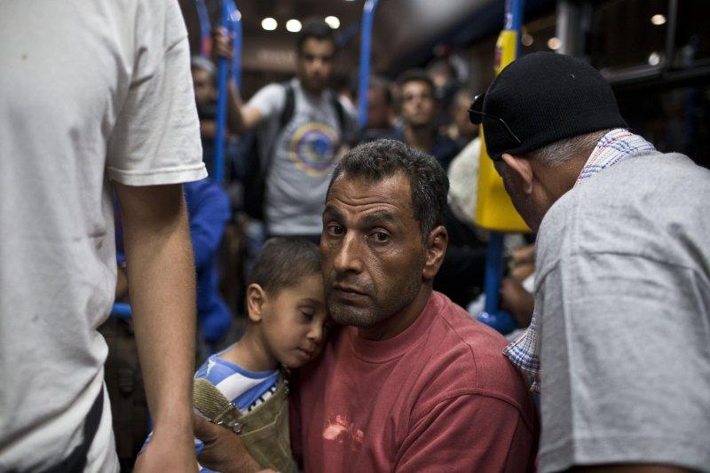 歐洲難民潮。(美聯社)
