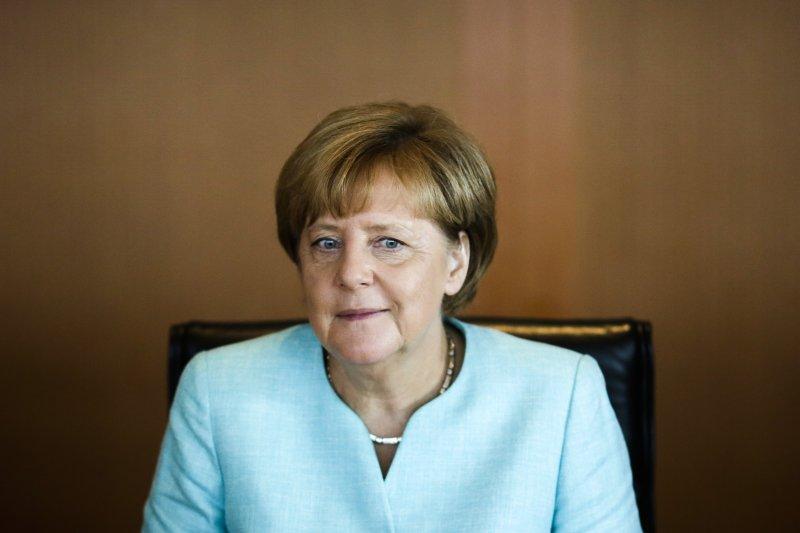 德國總理梅克爾(美聯社)。