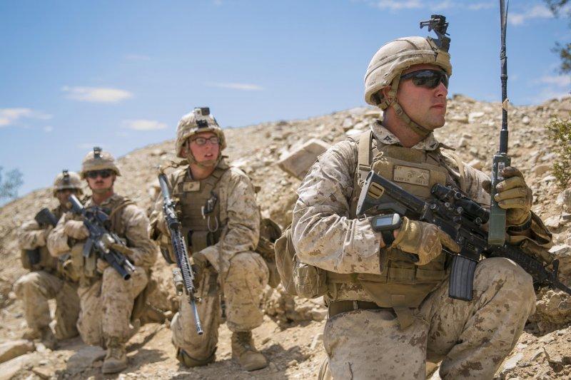 美國海軍陸戰隊。(取自美國海軍陸戰隊官網www.marines.mil)