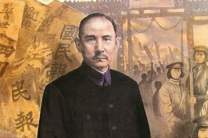 「我那位勇敢的外祖父,二十四歲的年輕人,懵懵懂懂地走入國民革命的大潮。」和孫中山錯身而行。