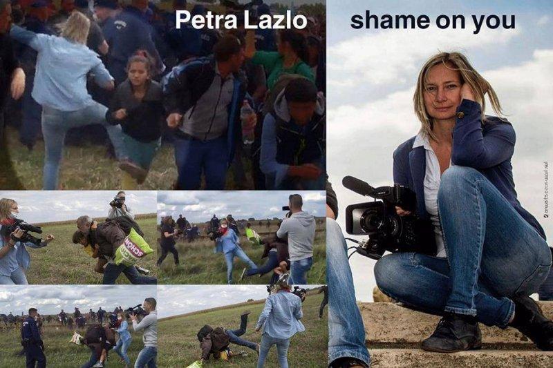 匈牙利「踹人姐」拉斯洛(Petra László)(臉書)
