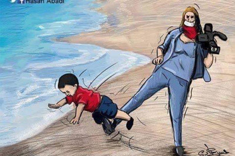 拉斯洛與難民小男孩