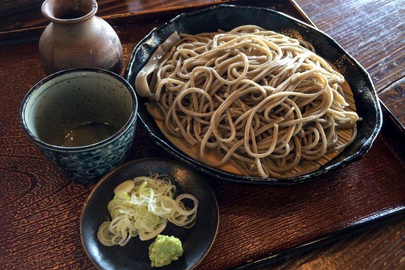 原來蕎麥代表著信州地區的傳統食物。(圖/Norio NAKAYAMA@flickr)