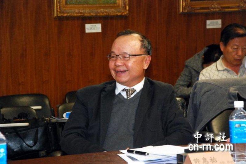 前國安局長許惠祐是卸任的國安局長中,媒體曝光率與招議風波最高的1位。(中評社)