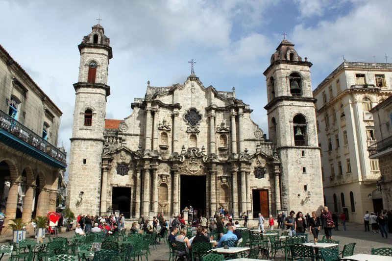 古巴首都哈瓦那的天主教堂(維基百科)