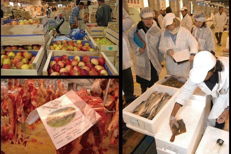 Rungis Market 集合蔬果、水產、肉 ... 發市場(圖片來源:Rungis website).