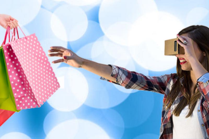 Trillenium將推出嶄新的系統,讓消費者在虛擬購物時能購將商品拿起來觀看。(圖片取自Trillenium推特)