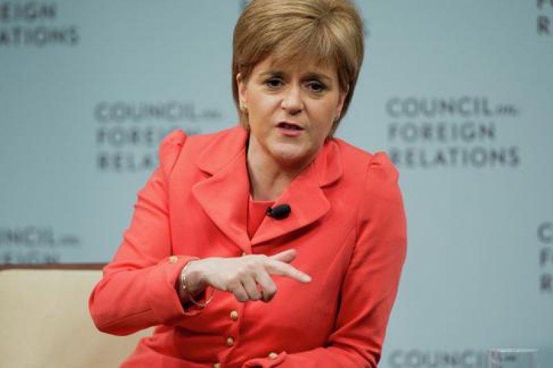 蘇格蘭民族黨黨魁史特金證實,蘇格蘭公投將捲土重來。(美聯社)