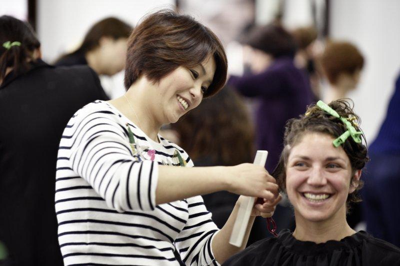 這是國內首次大型髮型秀與國際交流
