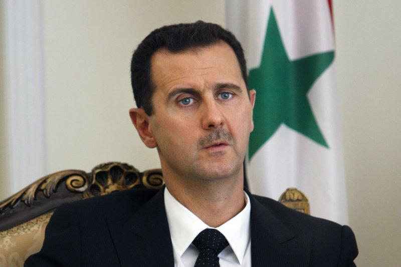 敘利亞總統阿塞德(Bashar al-Assad)(資料照,美聯社)。