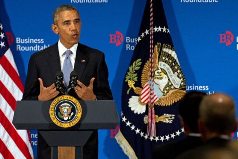 歐巴馬強調美國在保護本國免受商業間諜活動方面決不手軟。(BBC中文網)