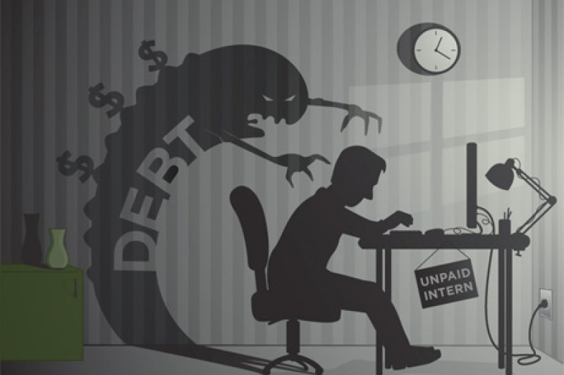 「窮人思維」的人雖然能賺到錢,但卻無法獲得自由而成為了奴隸。(取自www.pbs.org)