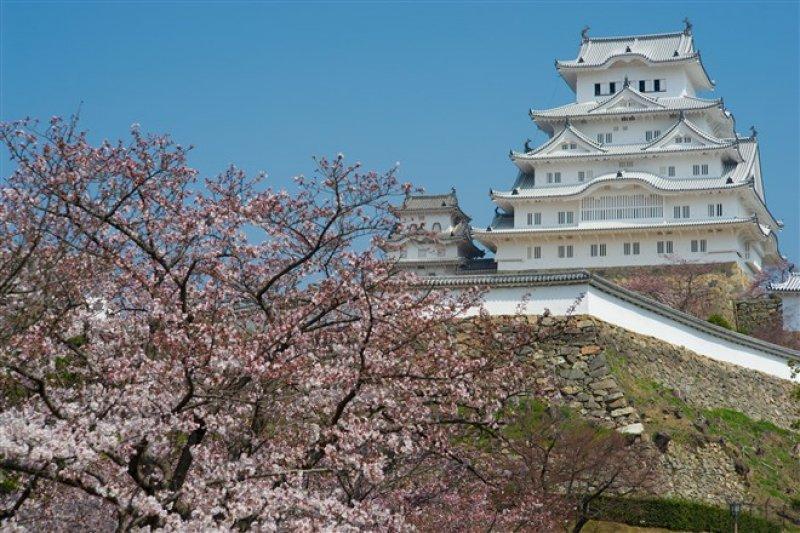 姬路城是日本首批世界文化遺產之一。(圖/WongKenny@flickr)