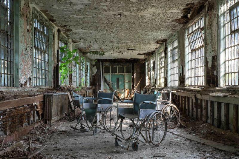 透過鏡頭,攝影師Jeremy Harris為精神病院的廢墟留下紀錄。(圖/Jeremy HARRIS Photographs)