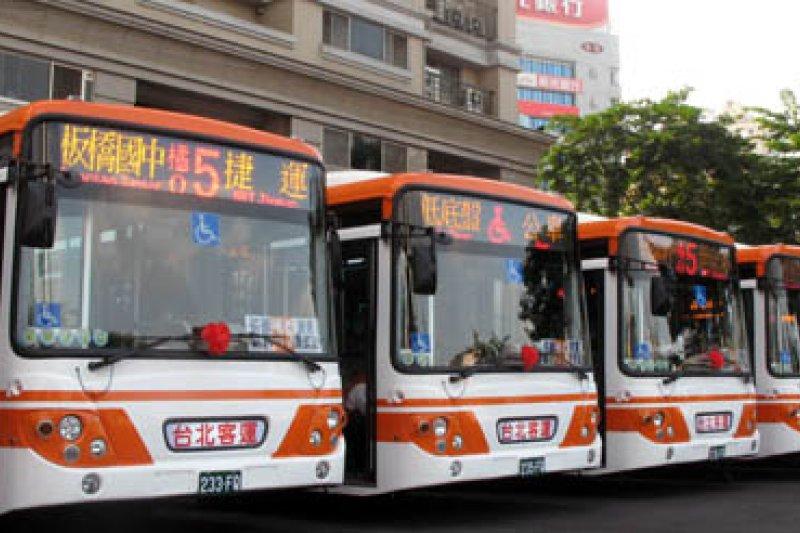 客運業則是票價漲幅8%~40%,將於明年一月實施。(資料照,取自台北客運網站)