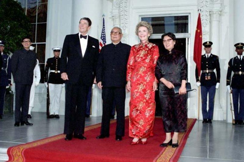 李先念1985年訪美,這也是中美史上第一次正式的「國事訪問」。(翻攝網路)