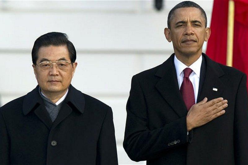 胡錦濤與歐巴馬。(翻攝網路)