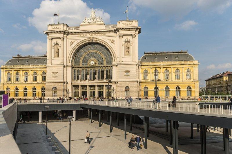 布達佩斯東站。(翻攝維基百科)