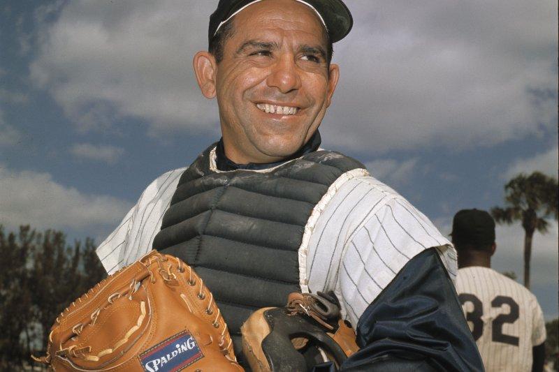 紐約洋基一代名將貝拉(Yogi Berra)(美聯社)