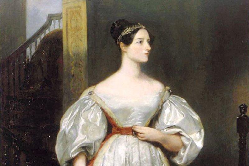 150年前的詩人拜倫女兒愛達被認為是電腦先驅。(取自網路)