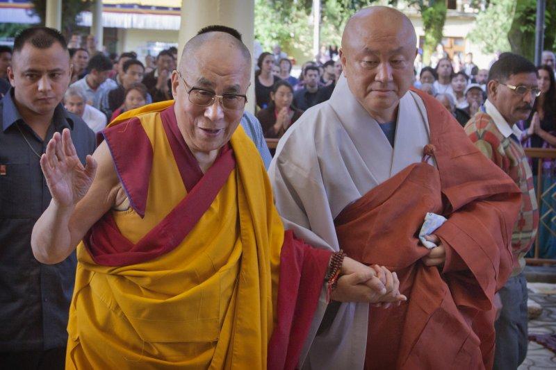 達賴喇嘛本月初造訪印度。(美聯社)