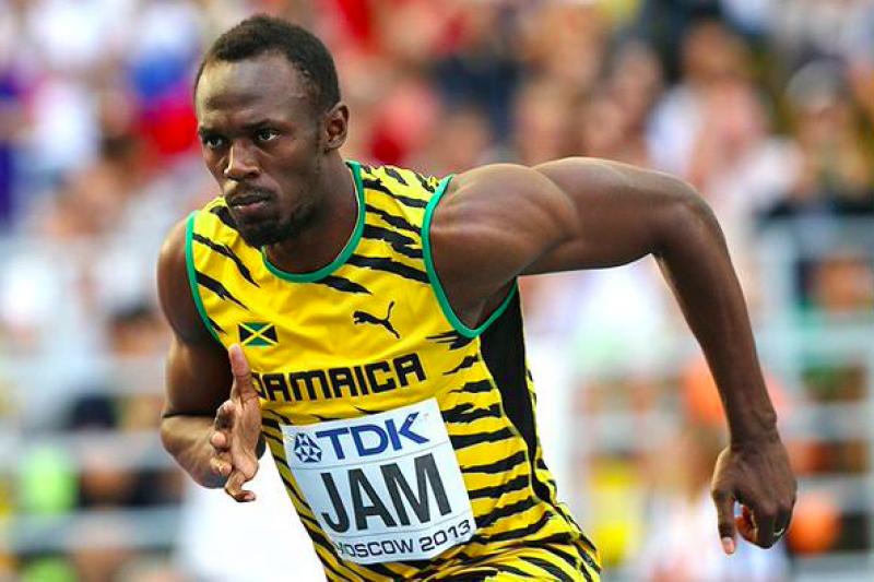 「牙買加閃電」博爾特跑完100公尺用不到10秒,他是怎麼辦到的?(取自twitter)