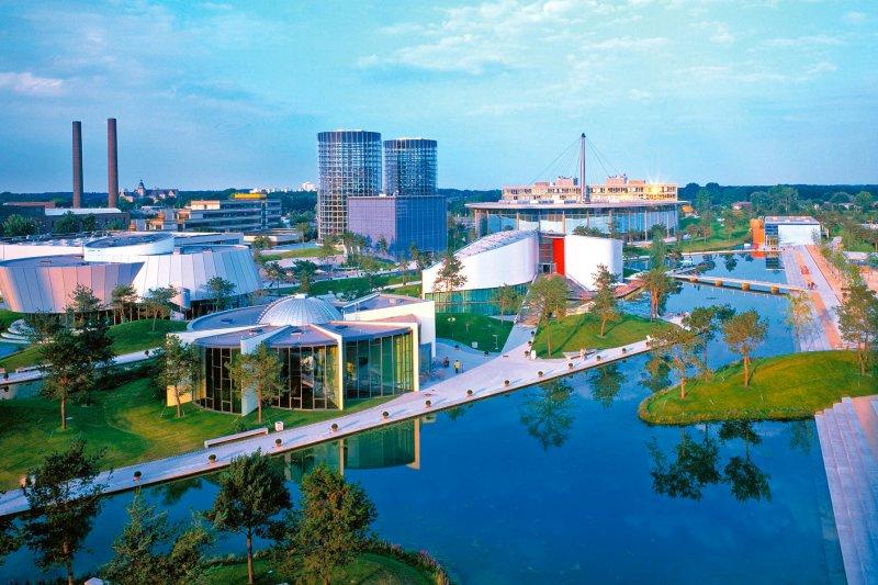 位於德國沃爾夫斯堡(Wolfsburg)的福斯集團總部(維基百科)