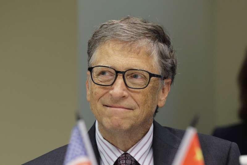 比爾.蓋茲發現,科技的進步可以解決核廢料問題,而且還可以順便加強多重避險機制。(美聯社)