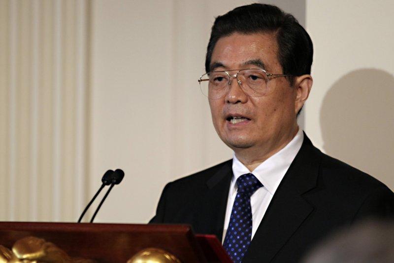 中國前國家主席胡錦濤,攝於2011年1月19日(美聯社)