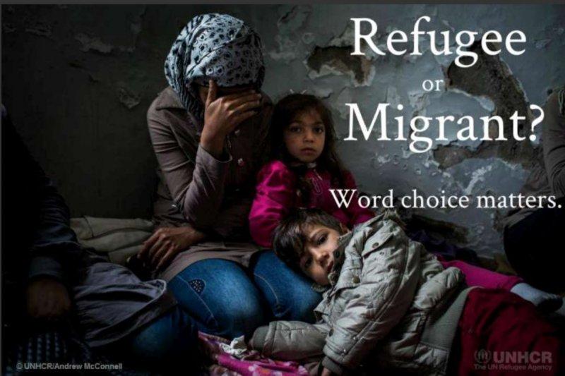 難民還是移民?(翻攝聯合國移民署)
