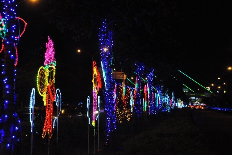 新竹縣漫步街燈,點亮夜晚,迎接國際客家文化嘉年華到來(圖/新竹縣政府提供)
