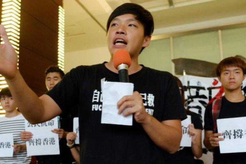 時任學運領袖陳為廷18日在臉書指出,民進黨過去這1年,「兩岸協議監督條例」不只還沒通過,而且在立院審查的次數還是「0」。(資料照,BBC中文網)