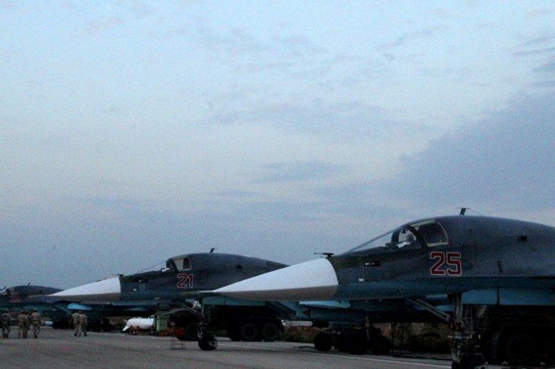 俄國空軍2日再度對敘利亞境內發動空襲。(俄羅斯衛星網)