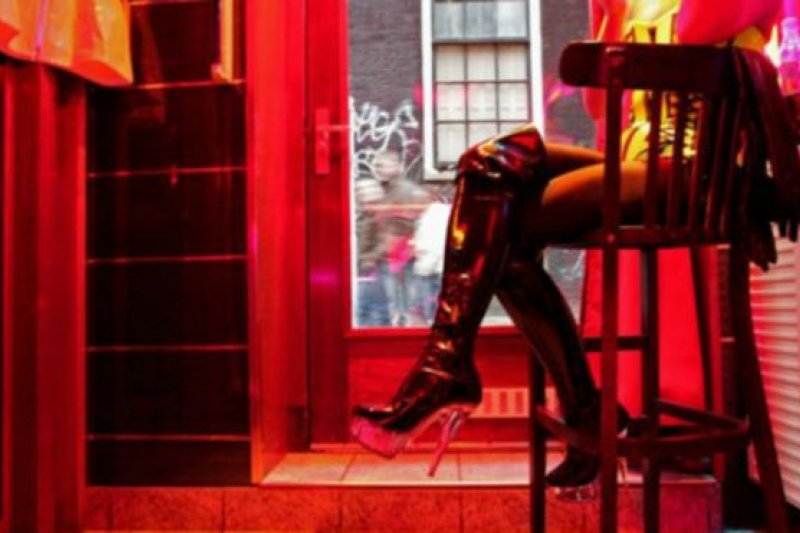在荷蘭首都阿姆斯特丹工作的妓女之中有大約四分之三是外國人。(BBC中文網)