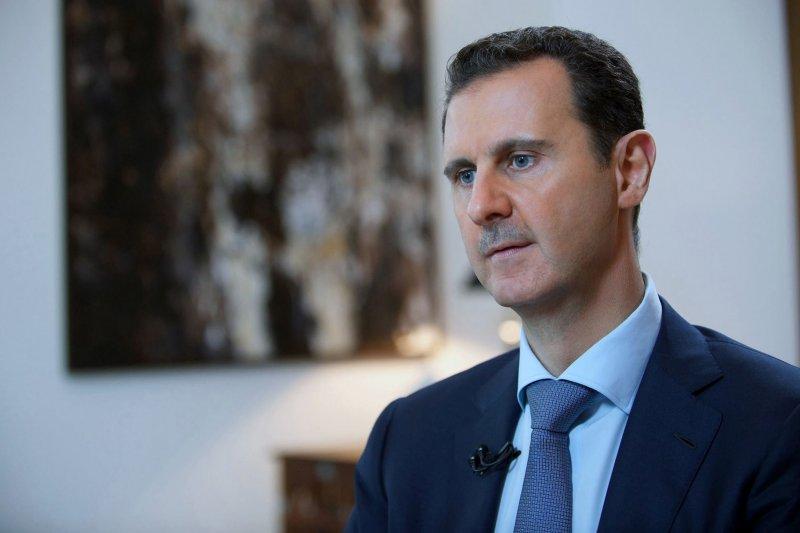 敘利亞總統阿塞德4日接受伊朗電視台訪問,大肆抨擊以美國為首的西方國家。(美聯社)