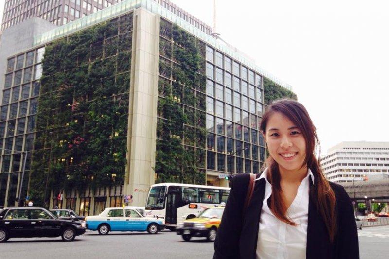 Sunny利用大學最後一個暑假到日本實習,體驗不同的企業文化。