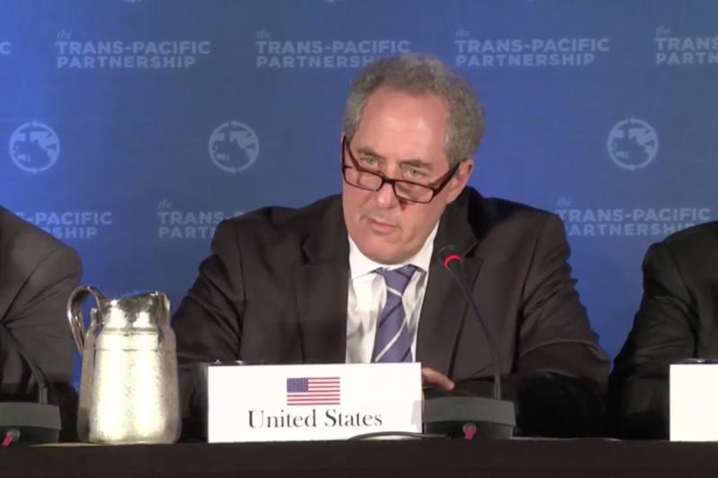 TPP參與國5日在亞特蘭大達成協議。(取自Youtube)