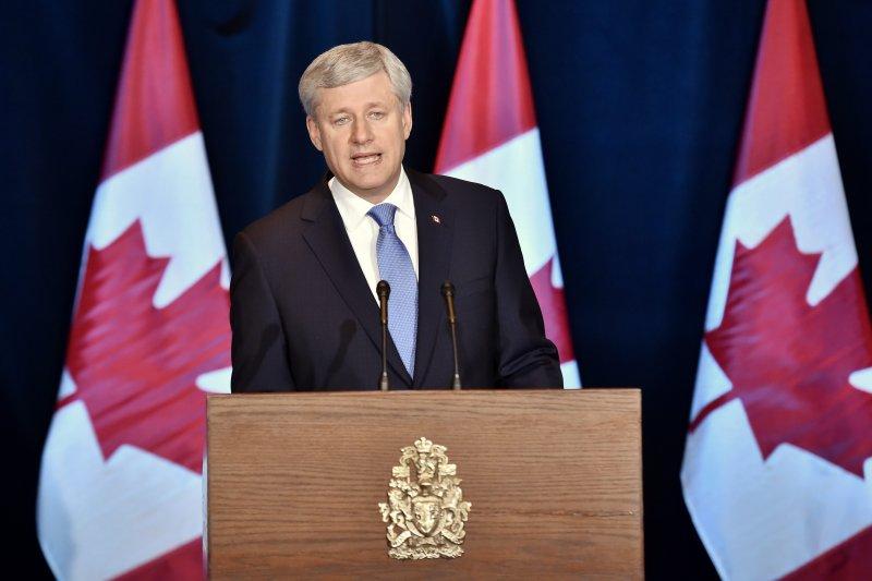 加拿大前總理哈珀(美聯社)