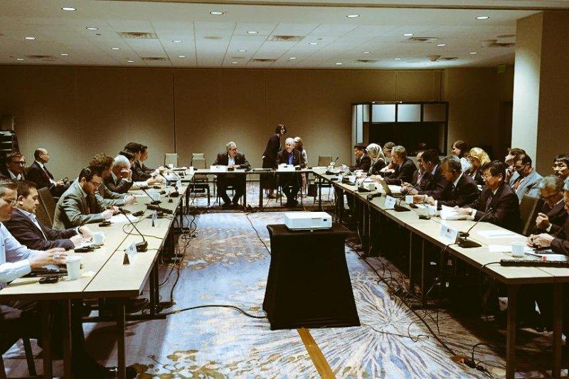 《跨太平洋夥伴協定》(TPP)談判會場