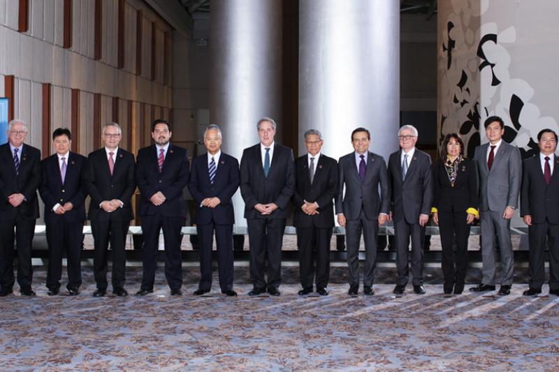 《跨太平洋夥伴協定》(TPP)各國談判代表