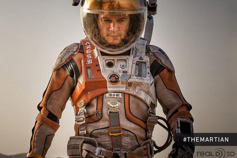 「絕地救援」電影宣傳海報。(圖/The Martian粉絲頁)