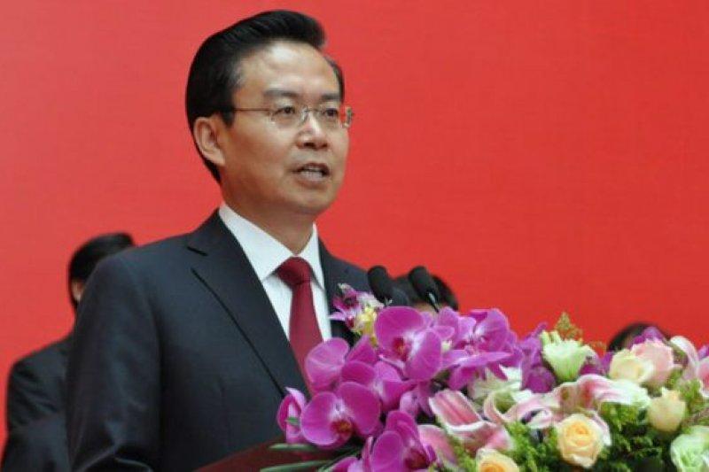 正接受調查的福建省省長蘇樹林。(BBC中文網)