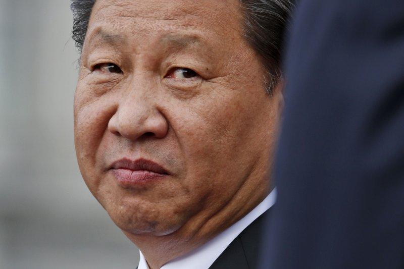中國國家主席習近平,圖為訪美行程照片。(美聯社)